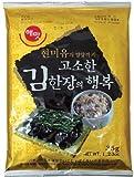 ☆韓サイ☆韓国 のり 香ばしい玄米油海苔一枚の幸せ(全形)☆