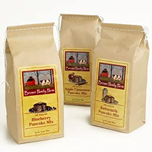 Vermont Pancake Mix by Brown Family Farm - Buttermilk (24 ounce)