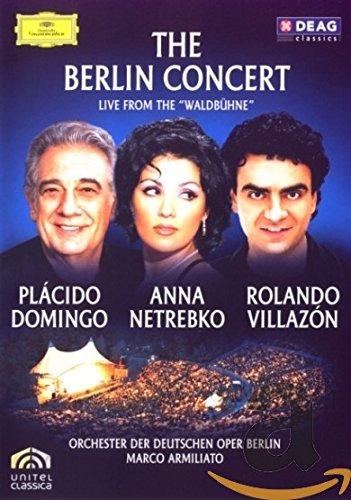 "DVD : Plácido Domingo - The Berlin Concert: Live From the ""Waldbühne"" (DVD)"