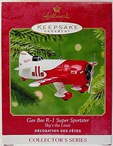 Hallmark Keepsake Ornament - Gee Bee R-1 Super Sportster