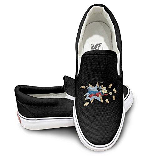 HYRONE Under Super Dog Cool Sport Shoes Travel Black