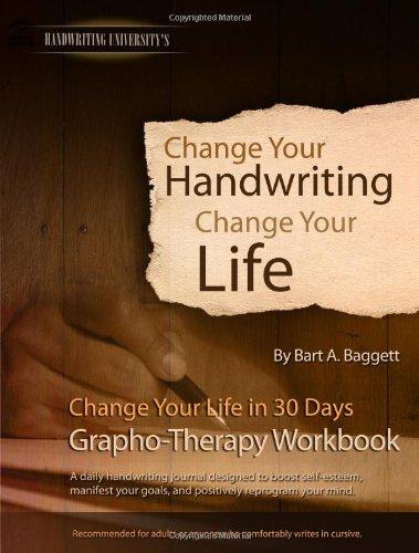 Change Your Handwriting, Change Your Life Workbook