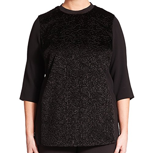 marina-rinaldi-womens-film-3-4-sleeve-sweater-16w-25-black