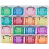 Really Useful Box 16 Storage Organisers 0.14 Litre - Color: Bright