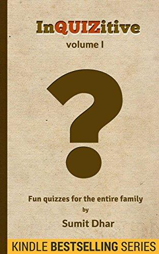 Free Kindle Book : Trivia Quiz & Pub Quiz Book: InQUIZitive (Volume I)