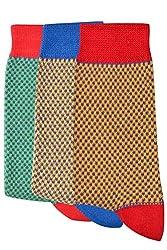 Balenzia Pack of 3 Kids Socks- 8-11 Years