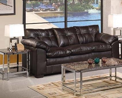 ACME 50350 Hayley Sofa with Premier Onyx Bonded Leather