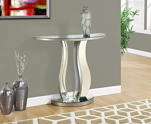 Monarch Console Table, Brushed Pewter, 36