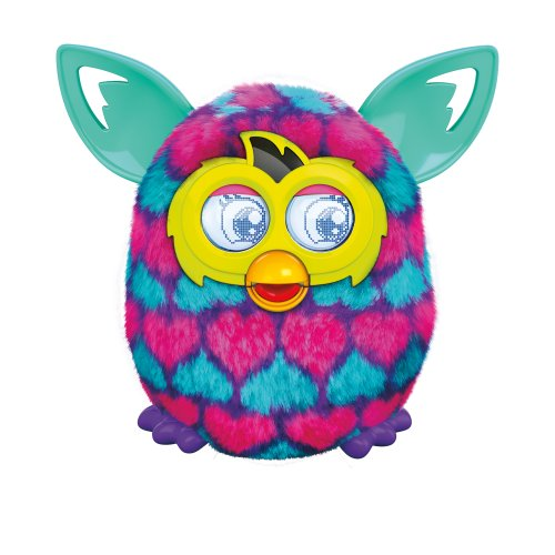 Furby Boom Plush Toy (Pink and Blue Hearts)