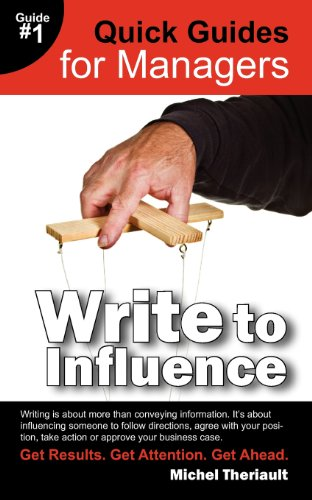 Write To Influence - Quick Guides for Managers