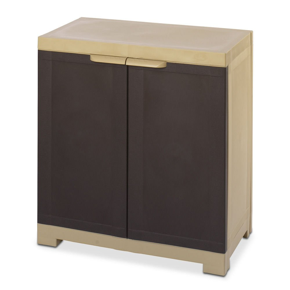 @home By Nilkamal Freedom Mini Cabinet (Brown)