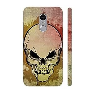 Enthopia Designer Hardshell Case Skully Scare Back Cover for Xiaomi Redmi Note 4