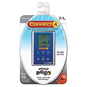 Connect 4 Electronic Handheld Game