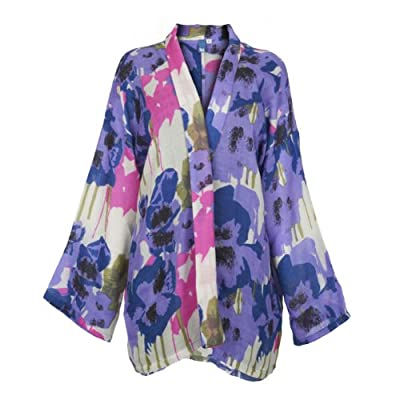 V&A Pansies Kimono Jacket - Small/Medium||EVAEX||RF10F