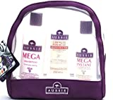 Aussie Gift Set Mega Shampoo / Mega Conditioner / 3 Minute Miracle Reconstructor (Purple)