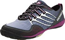 Merrell Barefoot Lithe Glove Running Shoe,Dark Shadow,7.5 M US
