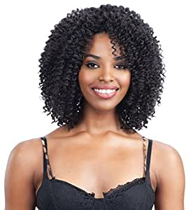 Amazon.com : Freetress Equal Hand-Tied Crochet Braid Synthetic Wig ...