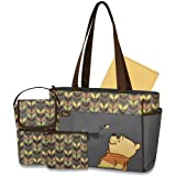 Disney Winnie the Pooh 5-in-1 Diaper Bag Tote by disney