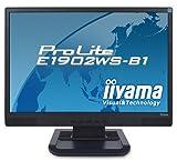 iiyama 19型ワイド液晶ディスプレイ ProLite E1902WS-B1(ブラック) PLE1902WS-B1