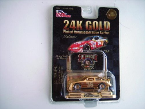 #36 Diecast Car 24k Gold Plated Commemorative Series (Nascar)