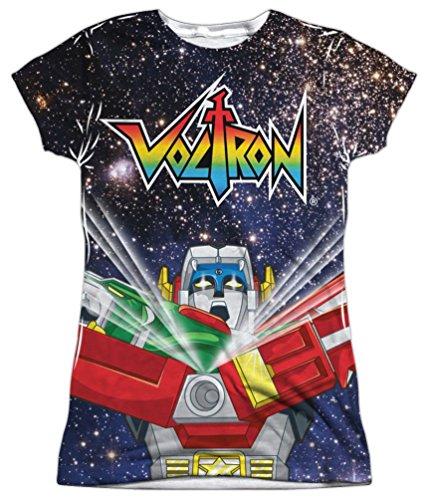 Sublimation: Junior Fit - Space Defender Voltron T-Shirt