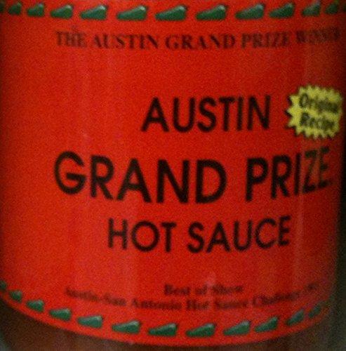 Austin Grand Prize Original Recipie Sauce 16oz Jar (Pack of 3) Select Flavor Below (Hot) (Austin Tx Hot Sauce compare prices)