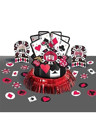 Casino Centerpiece Kit