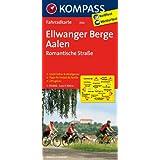 Ellwanger Berge - Aalen - Romantische Straße: Fahrradkarte. GPS-genau. 1:70000 (KOMPASS-Fahrradkarten Deutschland)