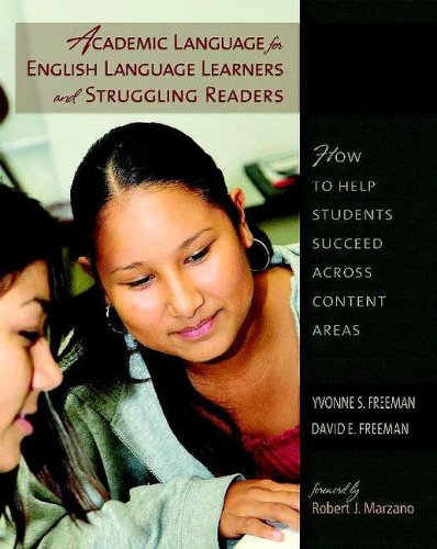 Academic Language for English Language Learners and...