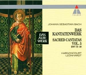 Cantates Sacrées,  Vol.5 : BWV 79 à 99