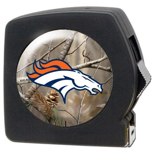 Nfl Denver Broncos Open Field 25' Tape Measure front-36450