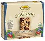 New England Naturals Organic Antioxidant Chewy,Granola Bar, 5-Count Bars (Pack of 6)