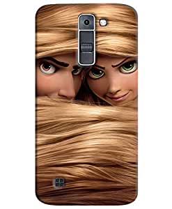FurnishFantasy 3D Printed Designer Back Case Cover for LG K7