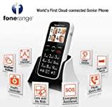 The Big Friendly Phone by Fonerange, The senior Large button, Loud Ringtone, Cloud connectable Phone, with SOS function, Torch and Many more features