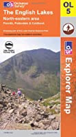 The English Lakes: North Eastern Area OL5 Paper (OS Explorer Map Series) by Ordnance Survey
