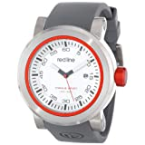 red line Men's RL-50049-014 Torque Sport Silver Dial Grey Silicone Band Watch