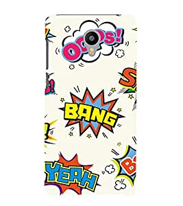 printtech Cool Swag Design Back Case Cover for Meizu m2 note