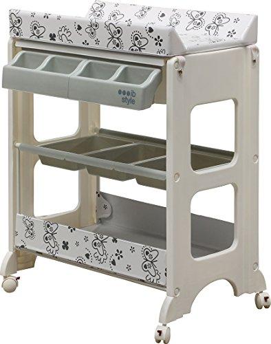 ib style wickelkommode mit badewanne 5 dekore w hlbar. Black Bedroom Furniture Sets. Home Design Ideas
