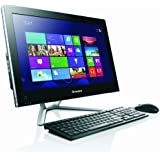 Lenovo C365 19.5-inch All-In-One Desktop - Black (AMD E1 2500 1.4GHz, 4GB RAM, 500GB HDD, Wi-Fi, Integrated Graphics, Windows 8.1)