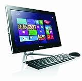 Lenovo C340 20 inch All-in-One PC (Black) - (Intel Celeron G550 2.6GHz Processor, 4GB RAM, 500GB HDD, DVDRW, LAN, WLAN, Webcam, Integrated Graphics, Windows 8)