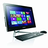 Lenovo C340 20-inch All-in-One Desktop PC - Black (Intel Celeron G1610M 2.6GHz Processor, 4GB RAM, 500GB HDD, DVDRW, Webcam, Integrated Graphics, Windows 8)