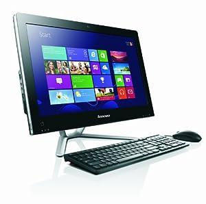Lenovo C360 19.5-inch All-in-One Desktop PC - Black (Intel Pentium G3220T 2.6 GHz, 4 GB RAM, 1 TB HDD, DVDRW, Wi-Fi, BT, Integrated Graphics, Windows 8.1)
