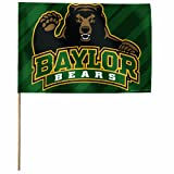 NCAA Baylor Bears 12 by 18-Inch Stick Flag