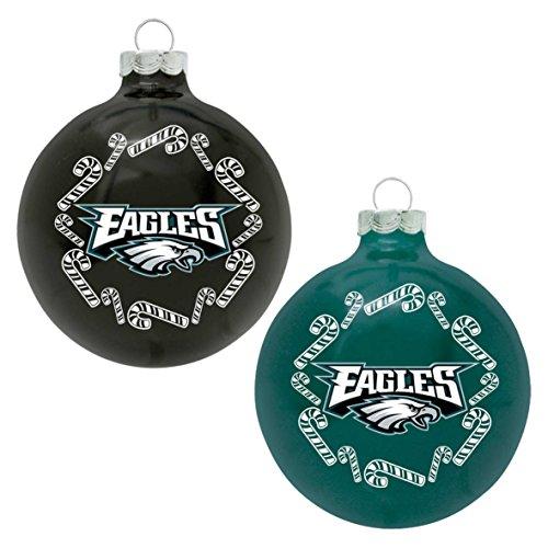NFL Philadelphia Eagles Home and Away Ornament Set