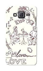 KnapCase Love Couple Designer 3D Printed Case Cover For Samsung Galaxy J5