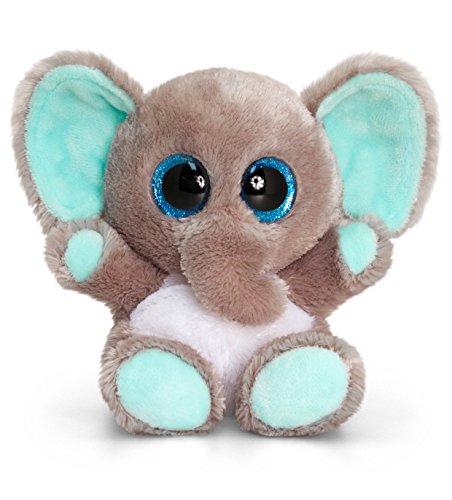 Keel Toys SF0452 Animotsu - Elefante di peluche, 15 cm