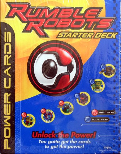 Buy Rumble Robots – Power Cards Starter Deck – 2000 Trendsetters