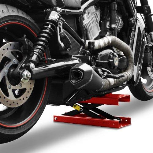 Ponte sollevatore moto constands mini lift rosso per for Sollevatore harley