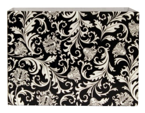 Premier Packaging AMZN-47153 6 Count Basket Decorative Box, Large, Damask