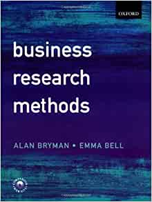 bryman bell business research methods Köp billiga böcker inom business research methods hos adlibris emma bell studyguide for business research methods by bryman.